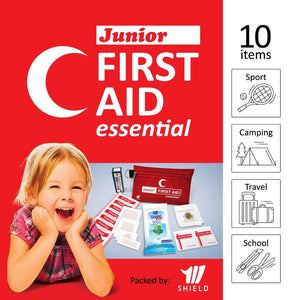 Antibacterial Wet Wipes 10's in the MediShield Junior First Aid Essential (Outdoor)