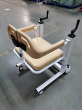 Multipurpose Mobile Transfer Chair with Adjustable Height