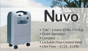 NUVO Lite Stationery Oxygen Concentrator 5 Litres (Nidex Oxygen Concentrator from US) - Asian Integrated Medical Sdn Bhd (ielder.asia)