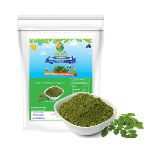 Lexmin Organic Moringa Powder (200gram) - Asian Integrated Medical Sdn Bhd (ielder.asia)