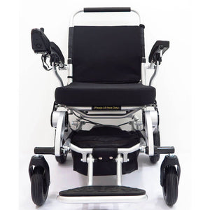 "Black Lightweight Power Wheelchair 26kg (18"") - Asian Integrated Medical Sdn Bhd (ielder.asia)"