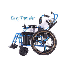 Dual Function Foldable Power Wheelchair Easy Transfer