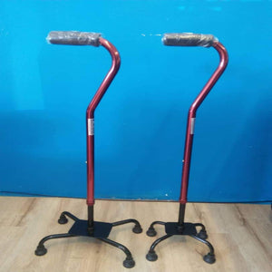 Quad Cane- for Better Stability - Asian Integrated Medical Sdn Bhd (ielder.asia)