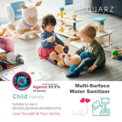 Quarz Hand and Multi Surface Water Sanitizer Spray (500ml)-Kill 99.9% germs (Child Friendly) - Asian Integrated Medical Sdn Bhd (ielder.asia)
