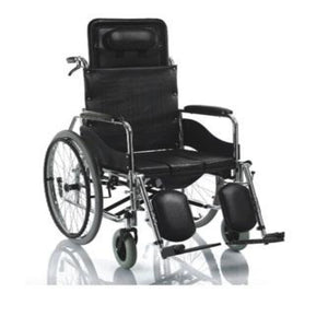 Rental for Yuwell Reclining Wheelchair Steel Frame H008B - Asian Integrated Medical Sdn Bhd (ielder.asia)
