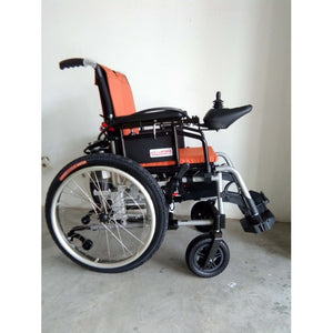 Orange Rocket Plus Lightweight Motorized Wheelchair (35kg) - Asian Integrated Medical Sdn Bhd (ielder.asia)