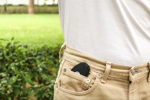 guarday device in a pocket