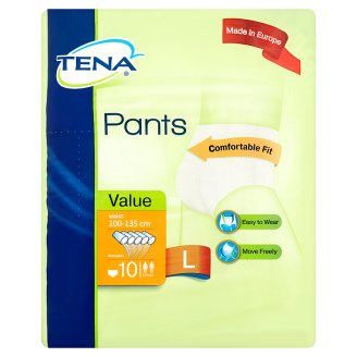 TENA Pants Value Adult Diapers L 10s