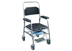 Shower and Commode Chair (Heavy Duty and Hospital Grade)