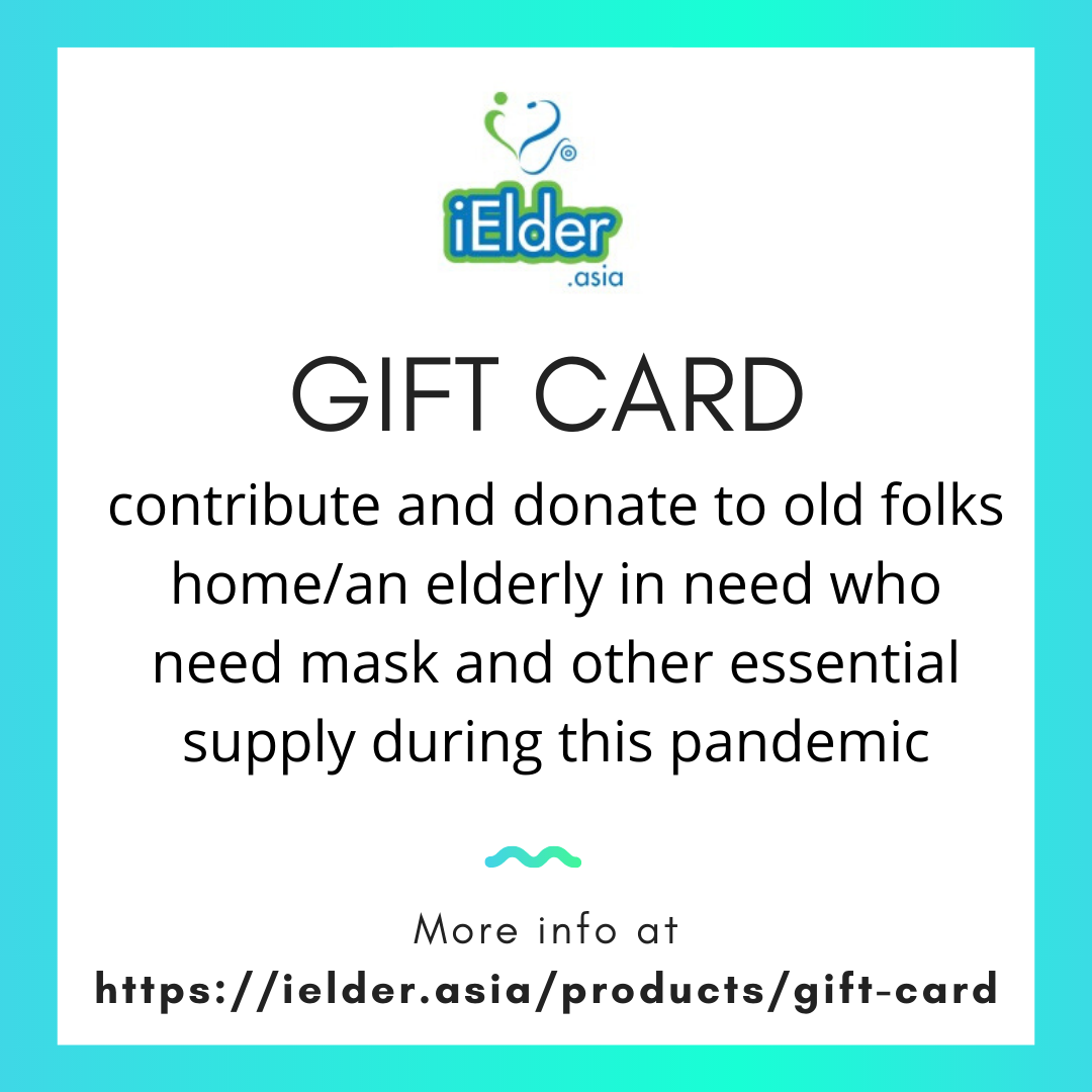 Gift Card/Donate for Covid-19 for Old folks home/Elderly in need - Asian Integrated Medical Sdn Bhd (ielder.asia)