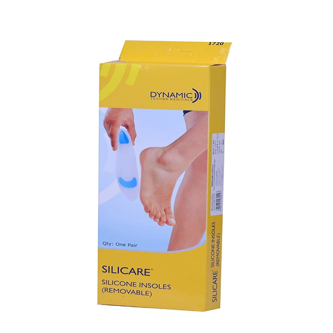 Silicare Removable Silicone Insole (1 pair) - Asian Integrated Medical Sdn Bhd (ielder.asia)