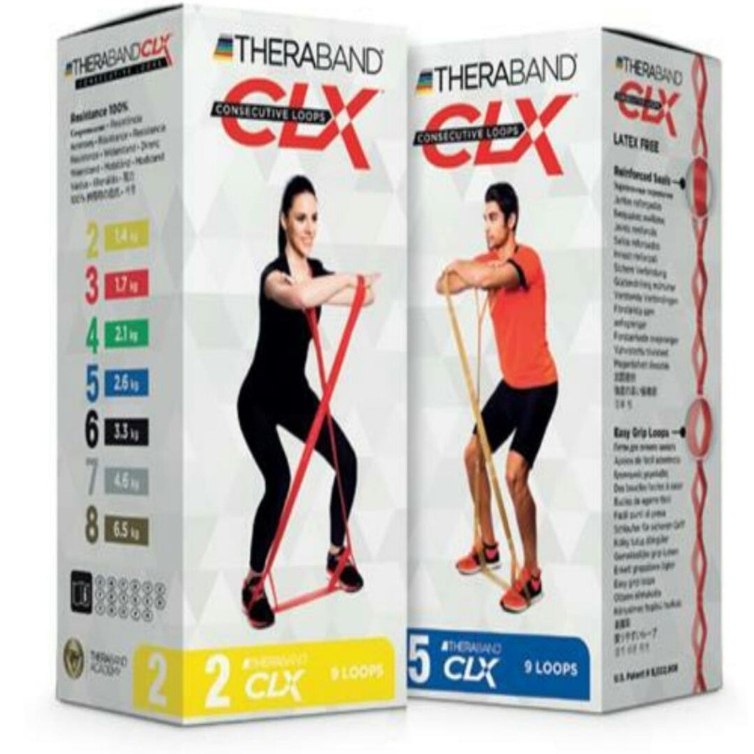 Theraband CLX 9 Loops Individual - Asian Integrated Medical Sdn Bhd (ielder.asia)
