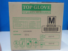 Top Glove Nitrile Medical Examination Glove Powder Free and similar brand (Size: M) 100pcs per box