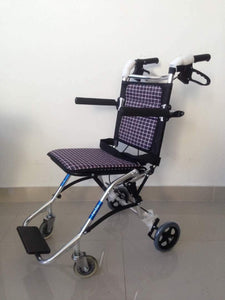 Purple Transport Pushchair with Carry Bag(7kg) - Asian Integrated Medical Sdn Bhd (ielder.asia)