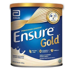 Ensure Gold 400g (Vanilla) [Exp: Dec 2022]