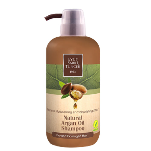 [Dry & Damaged Hair] Eyup Sabri Tuncer Argan Oil Shampoo (600ml)