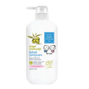 Eyup Sabri Tuncer Natural Olive Oil Baby Shampoo (600ml)