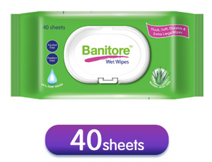 Banitore Wet Wipes (40sheets/Pack)