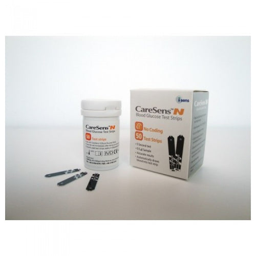 caresens blood glucose test strip