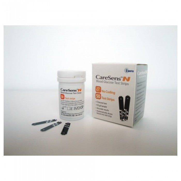 Caresens N Test Strip (Blood Glucose Monitor) - Asian Integrated Medical Sdn Bhd (ielder.asia)