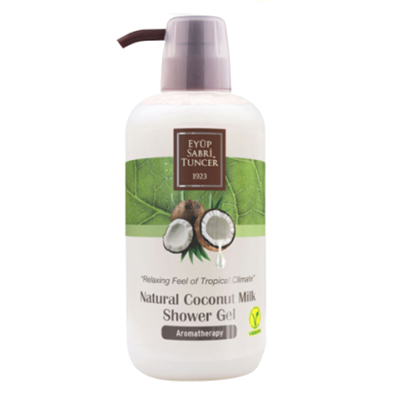 [Aromatherapy] Eyup Sabri Tuncer Coconut Oil Shower Gel (600ml)