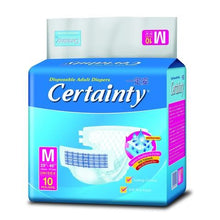 certainty adult diapers M10