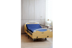 [Pre Order] Premium Electric Home Care Bed 3 Functions Light Brown