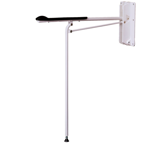 Sweden Etac Optima folding toilet arm support with supporting leg