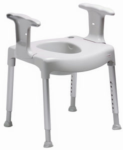 Sweden Etac Toilet Seat Free Standing Swift -corrosion free
