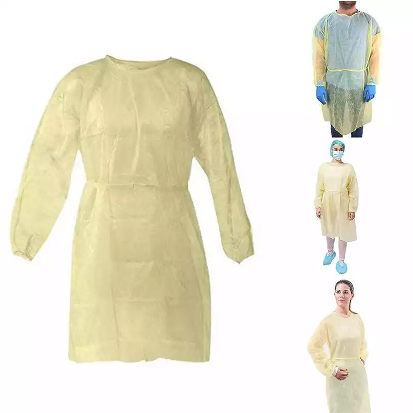 Isolation.gown PE coated, yellow - Asian Integrated Medical Sdn Bhd (ielder.asia)
