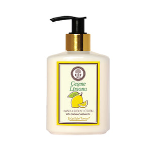 Eyup Sabri Tuncer Hand and Body Lotion with Organic Argan Oil (Lemon) (250ml)