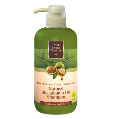 [Color-Treated Hair] Eyup Sabri Tuncer Macadamia Oil Shampoo (600ml)