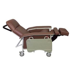 Mobile Recliner Geriatric Chair with Tray - Asian Integrated Medical Sdn Bhd (ielder.asia)