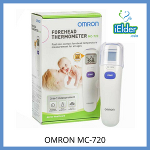 Omron Forehead Infrared non contact Thermometer MC-720 [1 year warranty] MDA approved