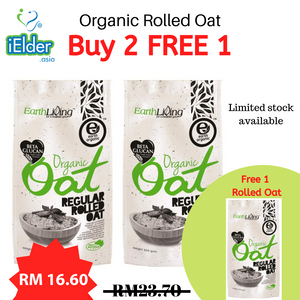 Earth Living Organic Oat (Buy 2 Free 1) [Expiry date: 02/2021] - Asian Integrated Medical Sdn Bhd (ielder.asia)