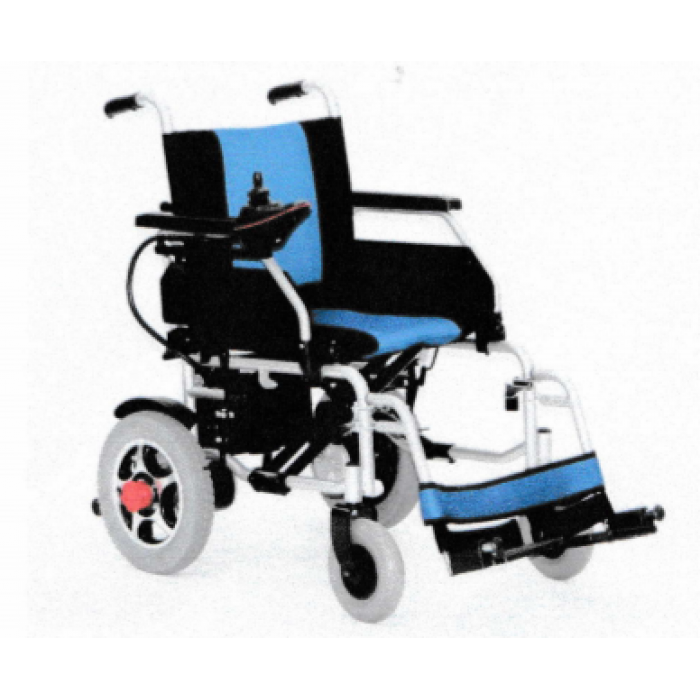 Blue & Black Powered Wheelchair Saver 18