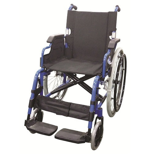 Lightweight Black QR Wheelchair with Spoke Rim 14kg