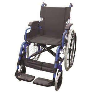 Lightweight Black QR Wheelchair with Spoke Rim 14kg - Asian Integrated Medical Sdn Bhd (ielder.asia)