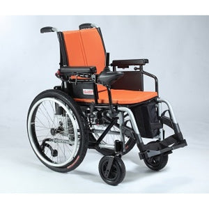 Rocket Plus Lightweight Motorised Wheelchair (35kg) side view