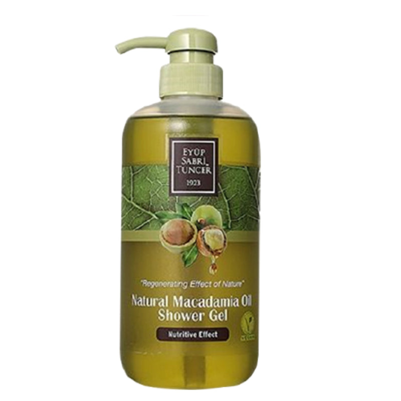 [Nutritive Effect] Eyup Sabri Tuncer Macadamia Oil Shower Gel (600ml)