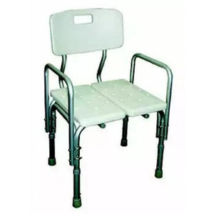 Aluminium Shower Chair with Adjustable Bath Bench and Two Sitting Board