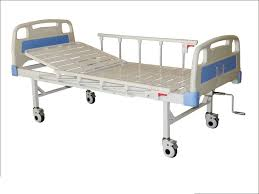 Rental Manual Hospital Bed 1-Crank