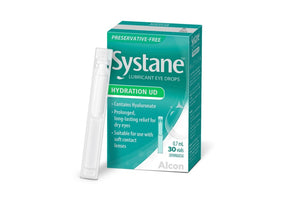 Systane Hydration UD- Systane Lubricant Eye drops (PRESERVATIVE-FREE EYE DROPS) (0.7ml/30 vials)