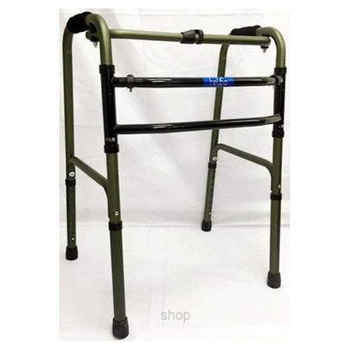 2 In 1 Walker Frame Dark Green - Asian Integrated Medical Sdn Bhd (ielder.asia)