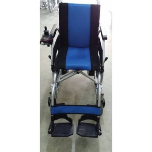 "Blue & Black Powered Wheelchair Saver 18"" (Chargeable) (43.5kg) - Asian Integrated Medical Sdn Bhd (ielder.asia)"