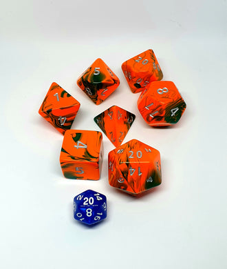 Large 7 dice set - Tainted Magic