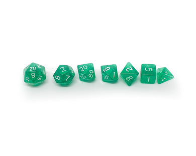 Translucent Mini Dice - Green