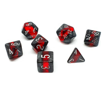 Load image into Gallery viewer, Gemstone polyhedral set - Dwarven Ruby