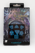 Load image into Gallery viewer, Call of Cthuhlu Azathoth dice set, 7 dice polyhedral set