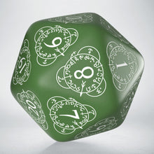 Load image into Gallery viewer, Premium large green D20